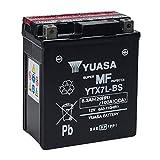 Motocar - Yuasa YTX7L-BS - Batterie scellée 12V, 6Ah, 100CCA, acide inclus