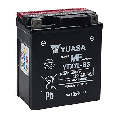 Batteria sigillata Y uasa YTX7L-BS 12 V 6 Ah 100 CCA