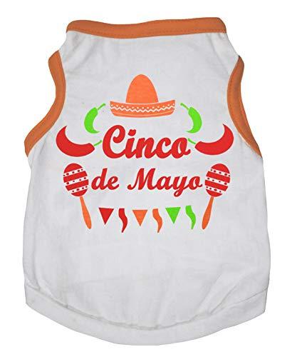 Petitebelle Cinco De Mayo Hemd für Hunde und Welpen