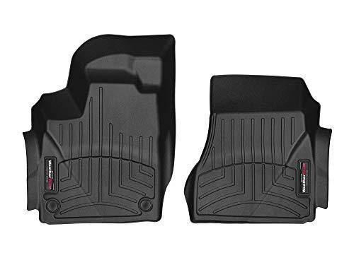 WeatherTech Custom Fit FloorLiner for Smart fortwo - 1st Row (Black)