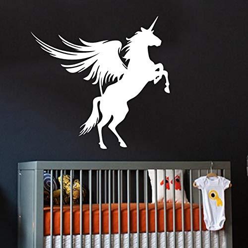 Tianpengyuanshuai muursticker vinylsticker vliegend paard met vleugels huishouden kunstdesign interieur modern