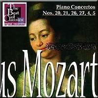 Mozart - Piano Concertos Nos. 20, 21, 26, 27, 4, 5 - Geza Anda (2 CDs) (2002-05-04)