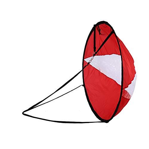 Daxin Foldable Kayak Sails Airkayaks Foldable Kayak Wind Sails for Surfing, Boating
