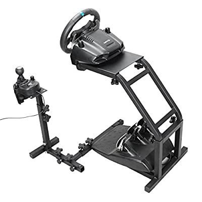 Ztopia Racing Simulator Steering Wheel Stand for Logitech G29, G27 and G25 Racing Wheel Pro Stand Wheel and Pedals Not included