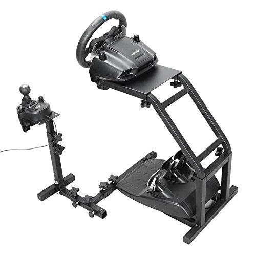 BuoQua Steering Wheel Stand Per Logitech G27 G25 E G29Volante Con Supporto V2 Supporto Giochi Solo Supporto Ruota E Pedale Non Incluso