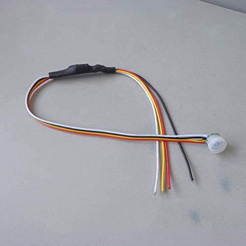 Bewegungsmelder, DC 5–24 V, 1 A, automatischer PIR-Bewegungsmelder, Sensorschalter