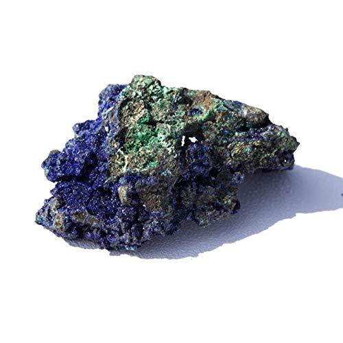 Dasorende 4-6CM NatüRliches Malachit Azurit Erz Roher Edelstein Mineral Probe Heil Stein Psychischer Stein Schmuck Making Haus Dekor