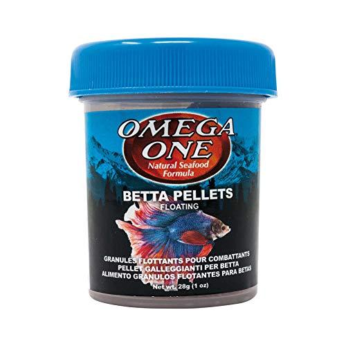 Omega One Betta Buffet 1.5mm Pellets, 1 oz
