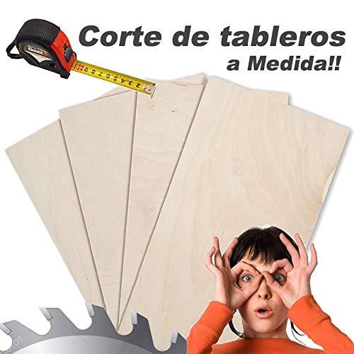 Tablero Contrachapado de 4 m/m de grosor cortado a su gusto (medida maxima 100 cm x 40 cm) puede elegir su tablero contrachapado a medida deseada