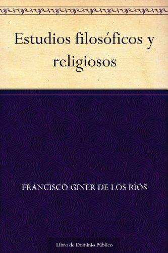 Estudios filosóficos y religiosos