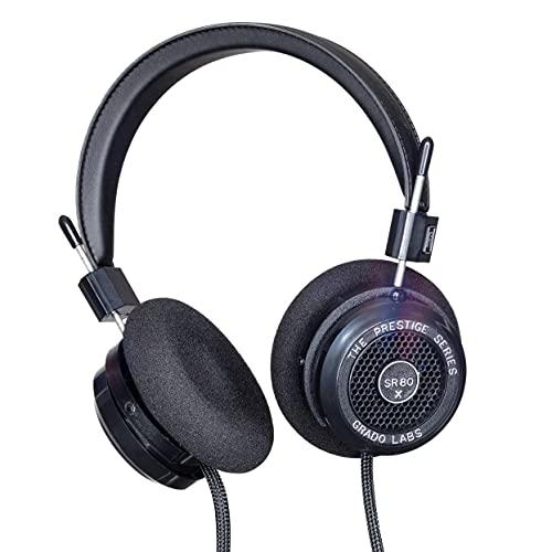 GRADO SR80x Prestige Series Wired Open Back Stereo Headphones