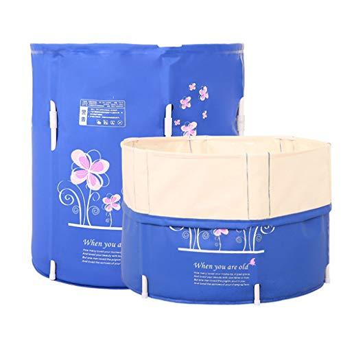 Bañera Plegable,bañera Plegable Adulto Adulto Bañera Plegable Plástico Del Bebé Piscina for Los Niños Baño Barril de Hogares Gran Bañera Portátil