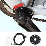 Capteur d'assistant de vélo électrique, 8 aimants Booster de vélo de montagne pour vélo électrique 1:1 capteur de suralimentation, outil de capteur de vitesse de capteur d'assistant de système PAS de