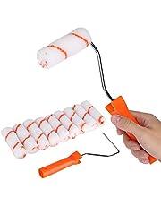 10 stuks 4 inch verfroller kit roller kwast mini schuim schilderrol voor huis muur plafond decoratie