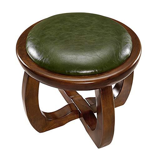 SYFO Tabouret en Bois Massif, Tabouret de Table Basse créatif, Banc à Chaussures Simple, Banc de canapé pour Enfant Tabouret (Color : Brown)