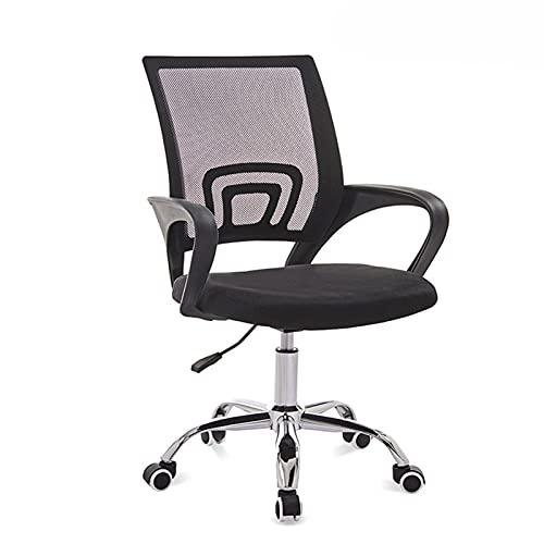 Muebles comerciales Malla giratoria ajustable 3D cómoda Silla de oficina colorida ergonómica (Color : 3)