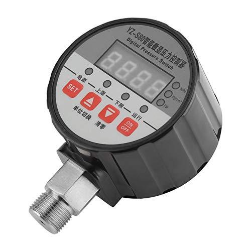 Interruptor de presión, controlador de presión, autoprueba de encendido, pantalla LED de 4 digitales, escuela de posgrado de laboratorio para el sistema de tratamiento de agua de tratamiento