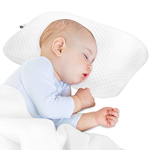 BAMMAX Newborn Pillow, Baby Newborn Pillow Flat...