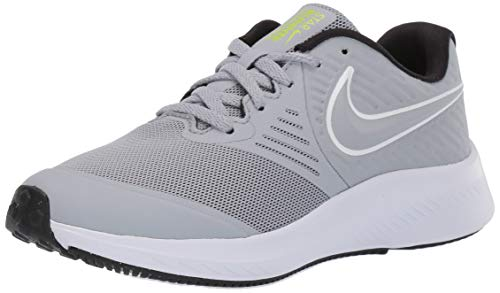 Nike Star Runner 2 (GS) Laufschuh, Grau Wolf Grey White Black Volt 005, 40 EU
