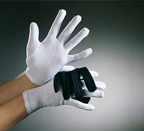 Niños guantes de algodón, de color blanco