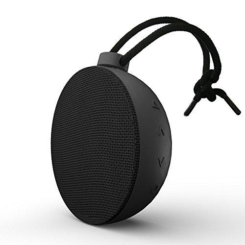 Wireless Speaker, AlierGo Portable Speaker, SoundAce Mini Outdoor Speaker IPX5 Waterproof Speaker/Splash Proof Shower Speaker 5W Enhanced Bass Outdoor Party Speaker 10-Hour Playtime Rechargeable