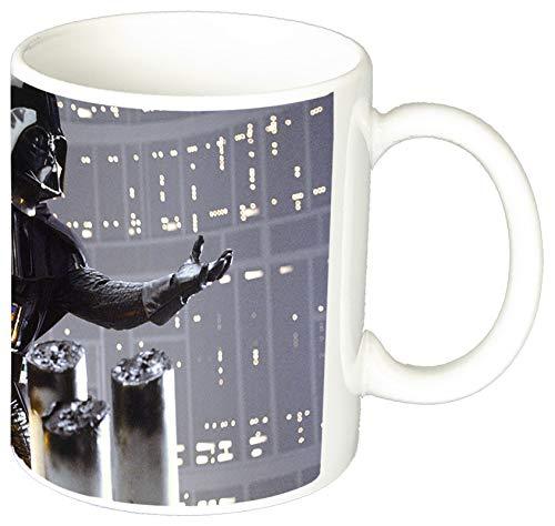 La Guerra De Las Galaxias Star Wars Dark Vader Taza Ceramica