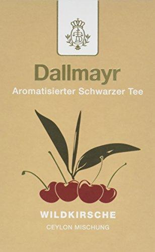 Dallmayr Aromatisierter Schwarztee - Wildkirsche, 8er Pack (8 x 100 g )