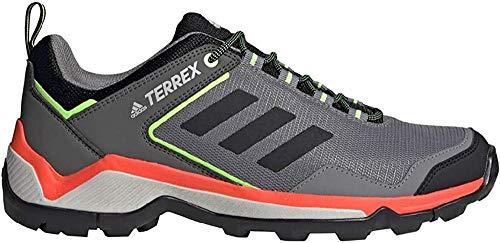 adidas Terrex Eastrail, Chaussure de Piste d'athlétisme Homme, Gris Trois F17/ Noir Noir/Vert Signal, 46 EU