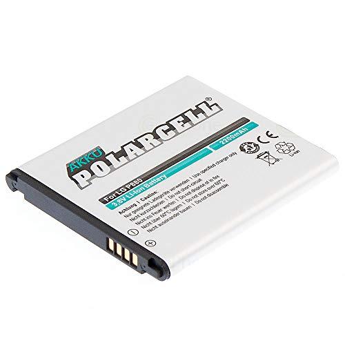 cellePhone PolarCell batería Li-Ion para LG Optimus 4X HD/Optimus L9 (reemplazado BL-53QH)