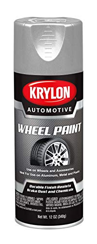 Krylon Automotive Wheel Paint, Silver, 12 oz. (KA8654007)