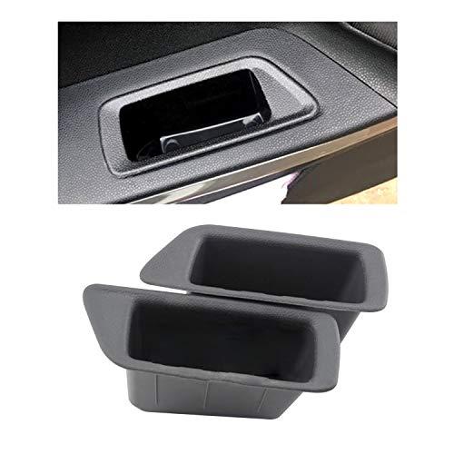 LFOTPP Vano Immagazzinaggio Auto Portiera per Ecosport, Secondario Organizer Scatola Portaoggetti Auto Accessori (4 pezzi)