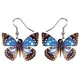 Pendientes De La Mariposa De Acrílico Nuevo De La Manera Que Cuelga Hyococ (Color : Multicolor)
