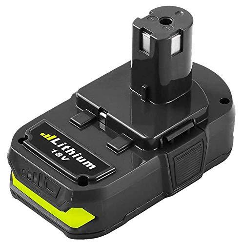 Replace for Ryobi P102 18V Battery Lithium 2500mAh One+ Plus P102 P100 P103 P122 P104 P105 P107 P108 P109 Cordless Tools