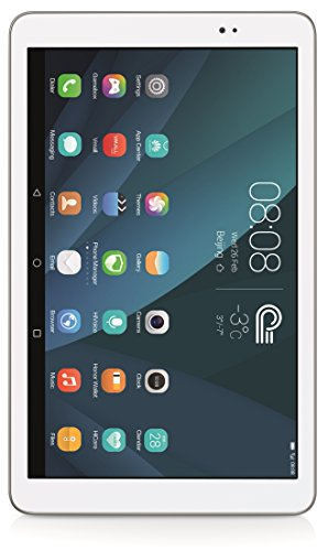 Huawei Mediapad T1 10 - Tablet de 9.6 Pulgadas HD (WiFi + 4G, Procesador Quad-Core, 1 GB de RAM, 16 GB de Memoria Interna, Android 4.4 actualizable a Android 5 + EMUI 3.0), Color Blanco