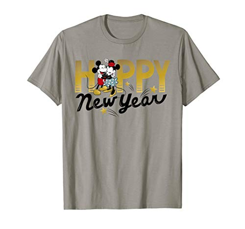 Disney Vintage Mickey and Minnie Happy New Year T-Shirt