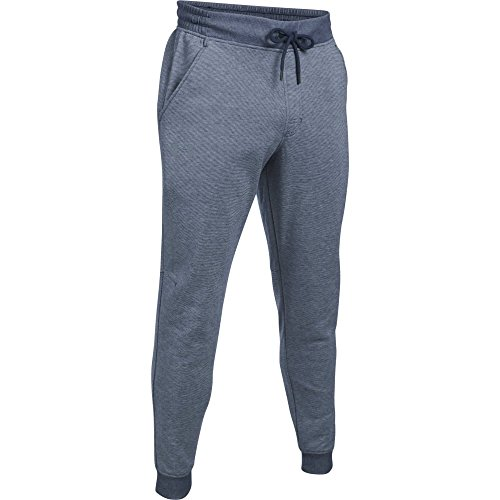 Under Armour, Storm Rival Novelty Jogger, Pantaloni Sportivi, Uomo, Blu (Midnight Navy/Midnight Navy/Graphite 410), XL