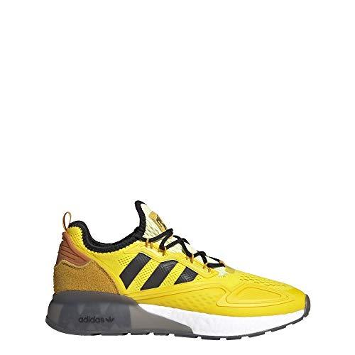 adidas Ninja ZX 2K Boost Shoes Men's, Yellow, Size 8.5