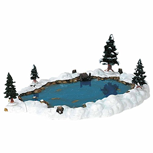 Lemax Christmas Village Collection Mill Pond 6-Piece Set #94387