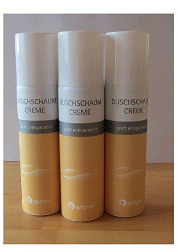 """Duschschaum """"Creme"""" Sparpaket (3 x 150 ml) von Spitzner"""