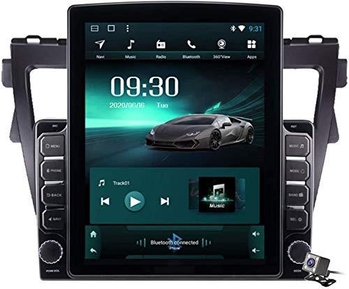 Android 9.1 9.7 pollici schermo verticale Autoradio GPS per Toyota Vios Yaris 2007-2012 Supporto GPS di navigazione/multimediale/specchio Link/Bluetooth SWC DSP FM AM ecc