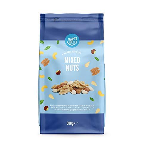 Amazon Marke - Happy Belly Gemischte Nüsse, 500 g
