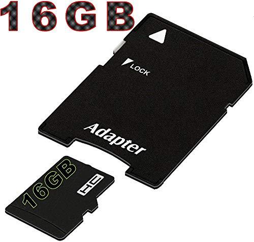 tomaxx Micro SDHC Speicherkarte für Motorola G7, Motorola G7 Plus, Motorola G7 Play, Motorola G7 Power, Huawei P Smart 2019, Honor View 20 16GB UHS-1 Class 10 Karte inkl. SD-Adapter