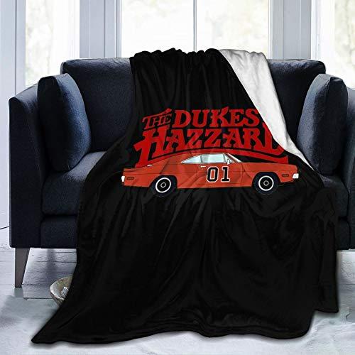 The Dukes of Hazzard Flannel Fleece Blanket Winter Soft Cozy Lightweight Plush Throw Blanket for Bed Sofa Chair Living Room