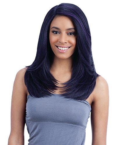 """FreeTress Equal Lace Deep Invisible """"L"""" PartTM Lace Front Wig - JANNIE - OM2730613 by Freetress"""