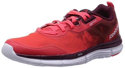 Reebok Zquick Soul Womens Running Sneakers-Red-5.5