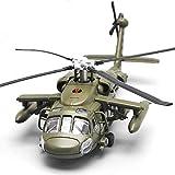 WZRY Modelo de avión, helicóptero Black Hawk a Escala 1:72, Modelo Militar, Modelo Militar de Combate de Metal de 11,4 Pulgadas, para entusiastas Militares, colección Conmemorativa y Regalo