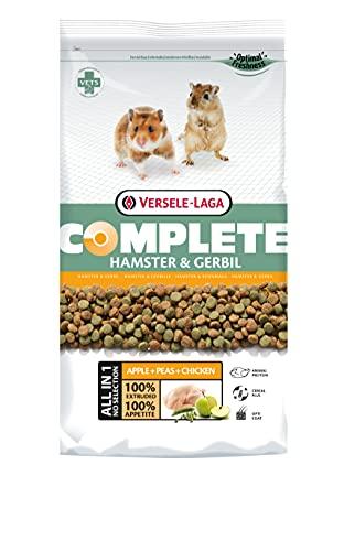 VERSELE-LAGA - Complete Hamster & Gerbil - Extrudés Tout-en-Un Riches en Protéines - 2kg