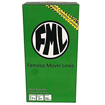 Famous Movie Lines - FML - The Most quotable Game of All time - Movie Lovers Heaven - The Best Family Game Night Game.