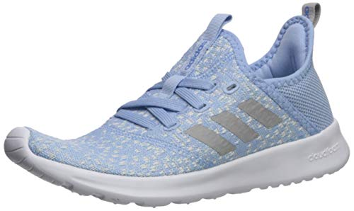 adidas Women's Cloudfoam Pure Running Shoe, Blue/Grey/Real Blue, 9 ...