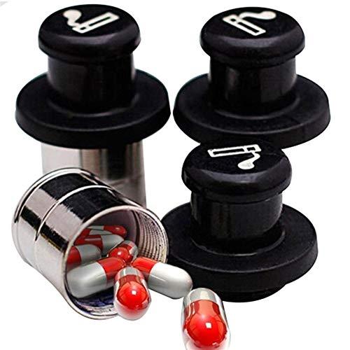 N\A Auto Leichter Tragbare Geheimnis Stash Auto-Zigarettenanzünder-Form Medecine Box Auto Autozubehör Escondite versteckte Pill-Behälter-Kasten qualitätssicherung